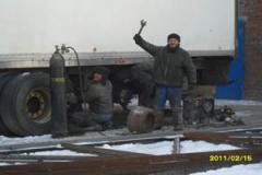 Naplavka of shaft - a pro-poin