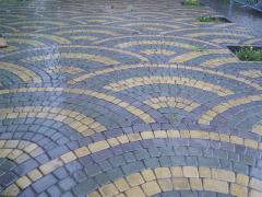 Укладка тротуарной плитки в Николаеве