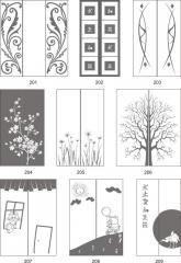 Варианты декора пескоструйной обработкой зеркал в интерьере 201-220