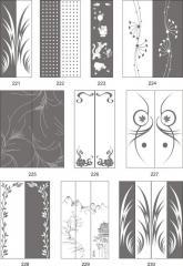 Варианты декора пескоструйной обработкой зеркал в домашнем интерьере 221-239