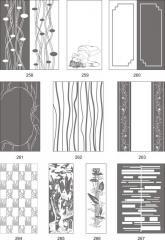 Варианты декора пескоструйной обработкой зеркал 258-276