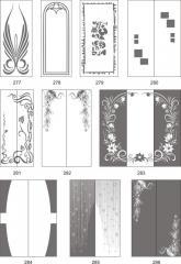 Варианты декора стеклянных поверхностей пескоструйной обработкой 277-295