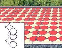 Укладка тротуарной плитки Рондо