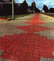 Работы по укладке тротуарной плитки любой сложности