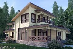 Архитектура и проектирование деревянных коттеджей
