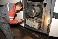 Диагностика АБ и генераторов грузовых автомобилей, прицепов и автобусов.