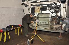 Диагностика и ремонт подвески грузовых автомобилей, прицепов и автобусов.