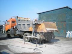 Пескоструйная очистка рам грузовых авто