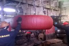 Repair of new processing equipment of foreign