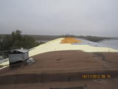 Repair of a soft roof without dismantle of old