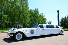 Rent of a limousine of EXCALIBUR