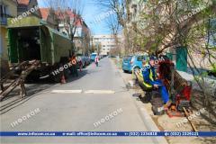 Drilling under roads