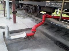 The equipment of oil depots - installation