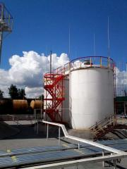 Construction and installation of pumping stations,