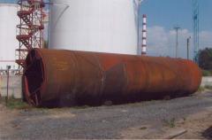 Монтаж резервуаров из рулонированных конструкций