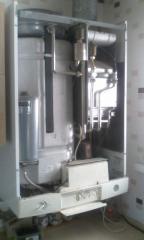 Ремонт конденсатных газовых котлов отопления импортного и отечественного производства