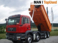 Dump truck 30 of t of MAN 41.440 BB 8x4