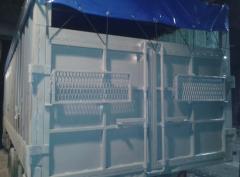 Переоборудование контейнера под зерновоз