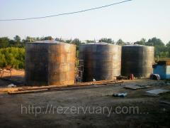 Изготовление и монтаж резервуаров под КАС-32