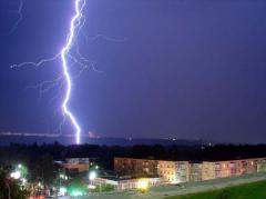 Lightning protection construction of facilities,