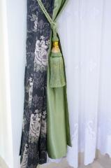 La costura de los lambrequines la Vinnytsia