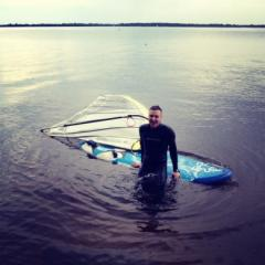 Training in Windsurfing