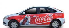 Размещение рекламы на  частных автомобилях