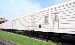 Transportations in refrigerator cars and