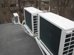 Installation of conditioners