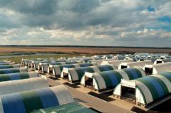 Пошив палаток, тентов, шатров, ангаров  с индивидуальным заказом
