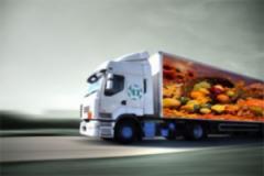 Die Dienstleistungen der Transport-und Versenderagenturen für die Produkte der Ernährung und die Getränke