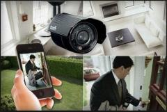 Installation of the security alarm system,