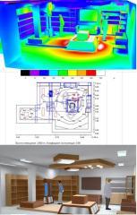 Светотехнический расчет освещенности, подбор оборудования