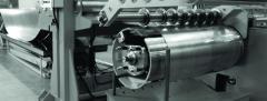 Cutting of rolled metal longitudinal