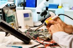 Repair of welding machines