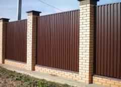 Installation of fences from a professional