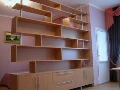 Production and installation of cabinet furniture