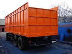 Изготовление прицепов грузовых автомобилей