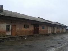 Warehouse at railway station Bila Tserkva,