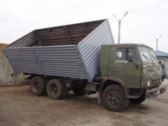 Переоборудование прицепов грузовых автомобилей.