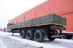 Изготовление, Ремонт, Переоборудование прицепов грузовых автомобилей