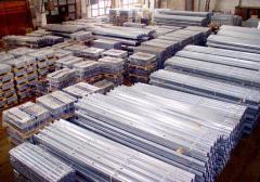 Galvanizing of pipes by an okunaniye method
