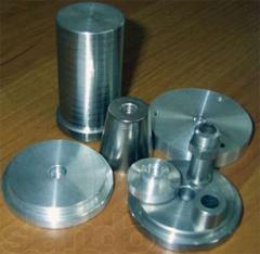 Groove of turning products on machines