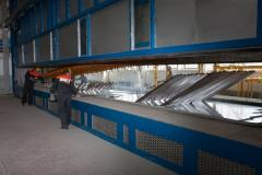 Galvanizing services by a hot method