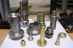 Turning and milling processing of metal