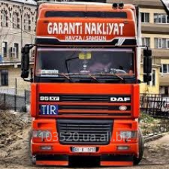 Driver of TIR