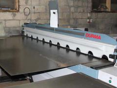 Cutting of sheet metal