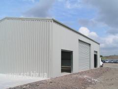 Строительство промышленных быстровозводимых зданий
