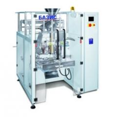 Automatic packing and packaging of tea, coffee, snacks, nuts
