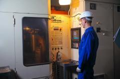 Machining with ChPU (horizontal milling